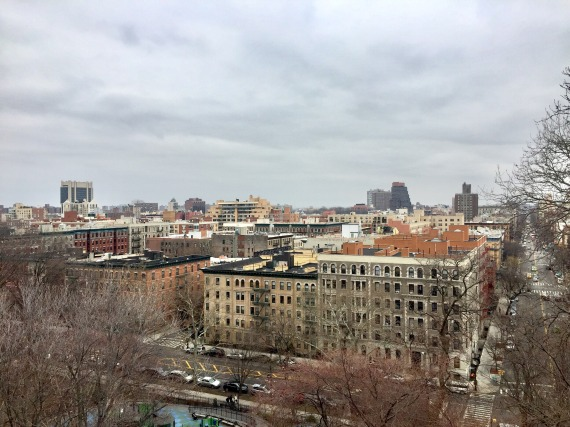 View of Harlem from Morningside Park