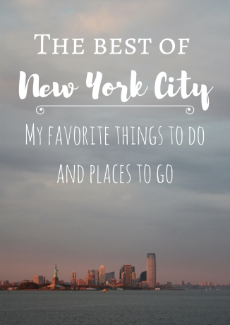 The best of New York City